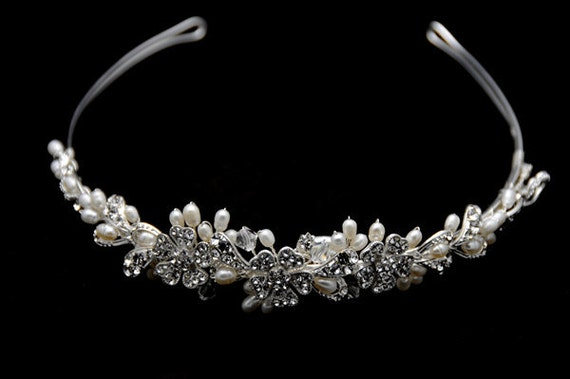 Vintage Inspired Bridal Headband Tiara