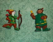 Walt Disney's Robin Hood and Little John 1982 RARE