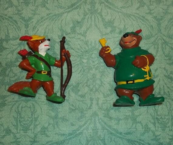 Walt Disney's Robin Hood and Little John 1982 RARE