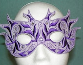Fantasy Fairy Purple Mask for Fun and Frolic