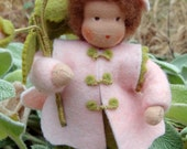 Waldorf Doll Flower Child (Rose)
