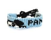 Friendship Bracelet: Cute Cuddly Panda