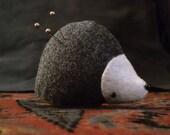 Hedgehog Pincushion Woodland Animal Plush Made to Order