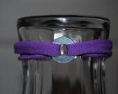 Purple Bottlecap Bracelet for Magnetic Bottlecaps