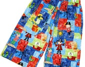 Boys Pirate Themed Shorts with Applique Sizes 5 to 8