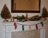 Christmas Stocking Garland