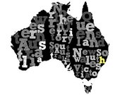 Custom Australia Print for Vera