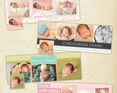 INSTANT DOWNLOAD - Facebook Timeline Cover Collection - Birth Announcement - E441