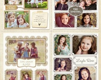 10 Blog Boards & 16x20 Collage Templates - E251