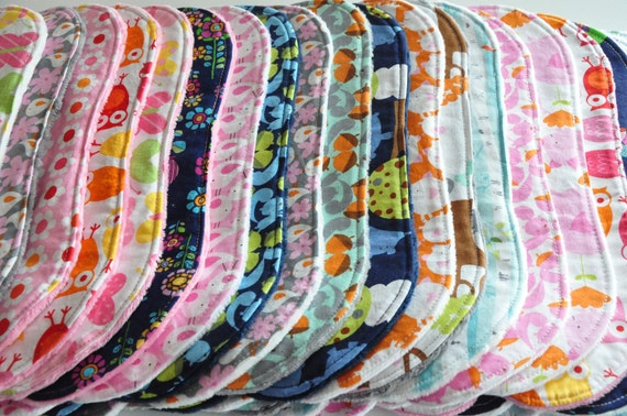 Pick 5 bibs and/or burp cloths