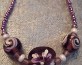 Violet Indigo Necklace set