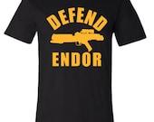 Star Wars Defend Endor- Men's Women's & Kids- Cool Christmas Gift