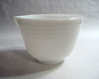 Small White Ribbed Bowl for Vintage Hamilton Beach Electric Stand Mixer