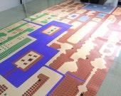 HUGE 8 Foot Long ZELDA Inspired Map Wall Mural for NES