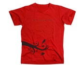 Birds - T Shirt - Men -  Stedman Classic - Red Shirt  - Available in S, M, L, XL