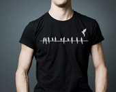 Birds - T Shirt -  Stedman Classic Men -  Black Shirt  - Available in S, M, L, XL