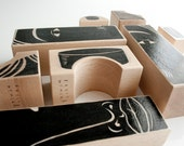 Phalanx (Wood Sculpture) Set A