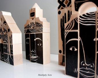 Phalanx (Wood Sculpture) Set C