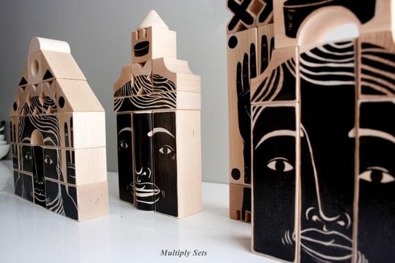 Phalanx  (Wood Sculpture) Set D