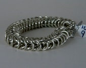 Large Box Weave Chainmaille Bracelet RESERVED FOR NANCY