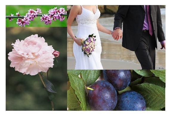 Peony Plum Blossom Scented Envelope Sachet, Romantic Home Fragrance, Modern Wedding Scent for Bride, Honeymoon Drawer Luggage Freshener