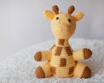 Crochet Giraffe Plush Toy