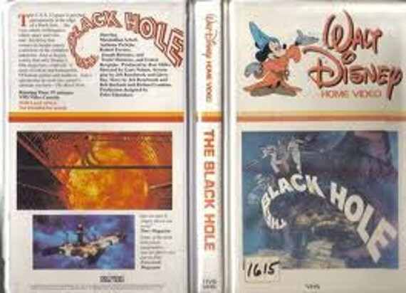 Items similar to Vintage Disney The Black Hole,VHS ...