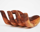 HOME WOOD DECOR  napkin holder. Guest room decoration,       reduced  from 105.00