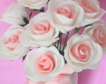 Gracie allen  paper roses for weddings