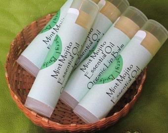 Organic Mint Mojito Lip Balm