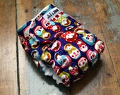 Russian nesting doll AI2 one-size cloth diaper