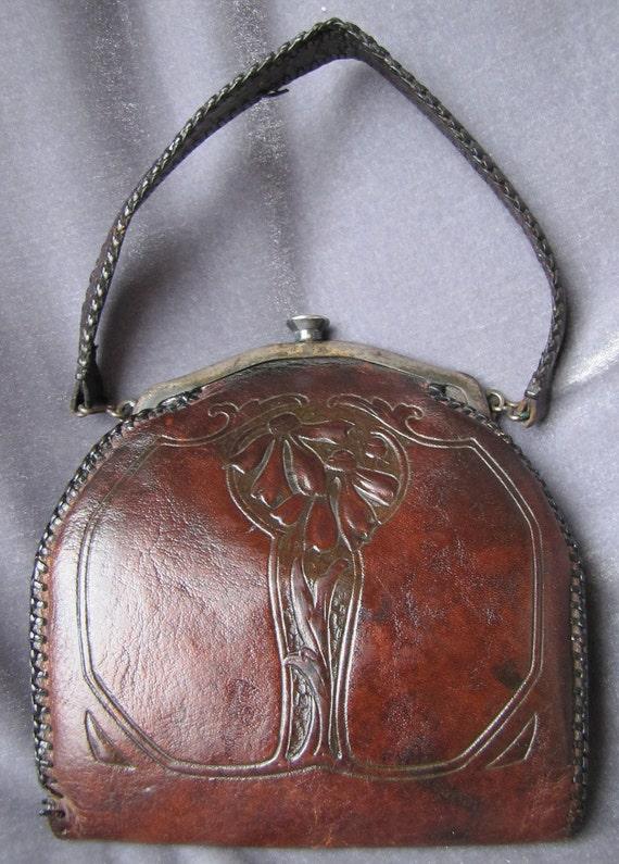 1910 EDWARDIAN ANTIQUE PURSE Collectors Item