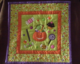 Sweet tooth mini quilt