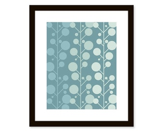 Mid century modern print-Abstract Art Print-8x10 poster
