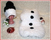 Extremely Soft Snowman Cocoon set.
