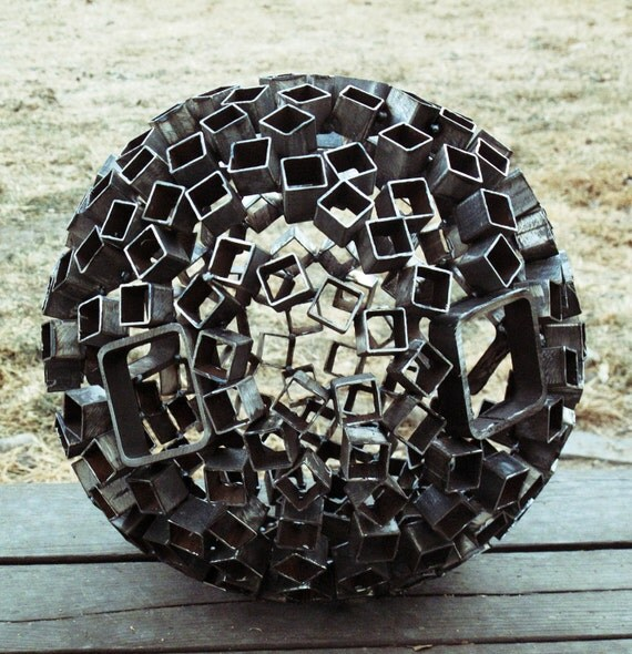 Items Similar To Metal Sphere On Etsy