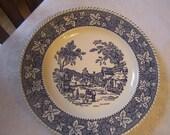 Homer Laughlin Willow Ware China Plate FREE SHIPPING
