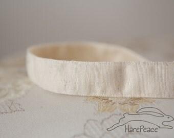 "No-Slip Headband Natural Hemp 7/8"""
