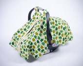 Baby Car Seat Cover - Turtles