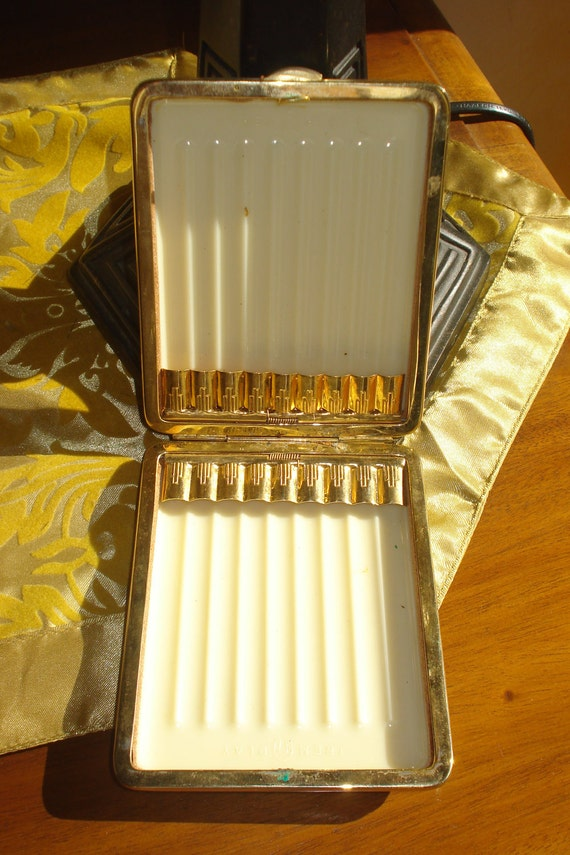 Art deco french cigarette case