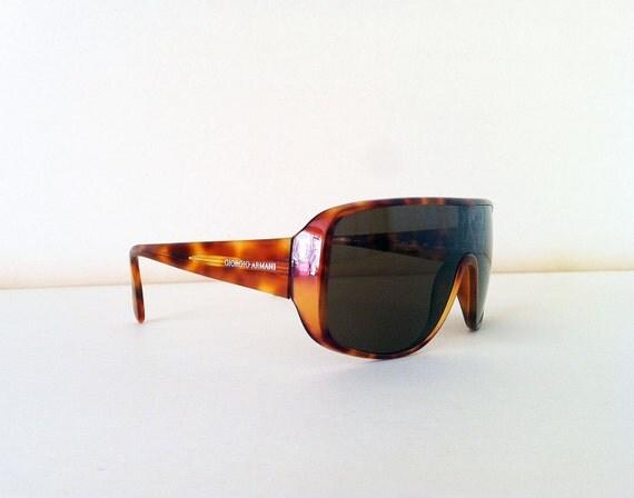 Giorgio Armani Vintage sunglasses mask