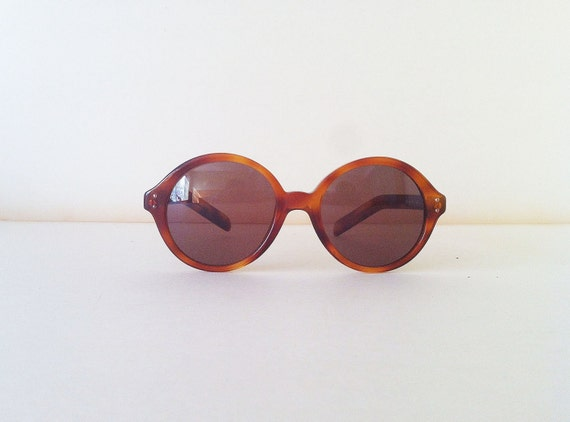 Giorgio Armani Vintage sunglasses color amber tortoise