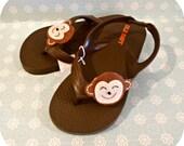 50% off Monkey flip flops