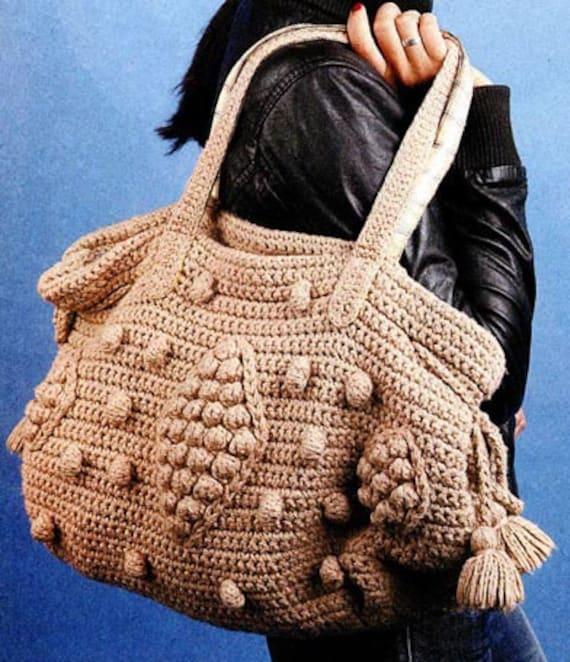 Crochet Bag Pattern Pdf : PDF Crochet Pattern - Crochet Bag Pattern, PDF Pattern
