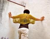 Bohemian Knit Shrug Eco-Friendly