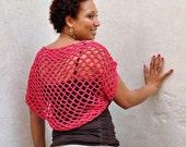 Sexy Crochet Sweater Eco-Friendly Kimono Shrug