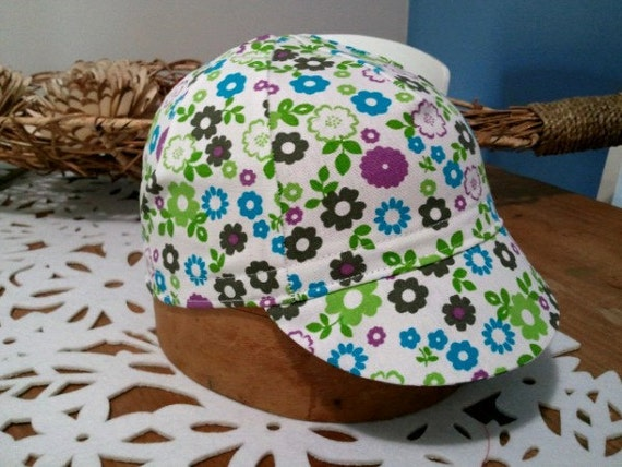 Flower Adult Cycling Cap Hat