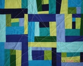 Modern Baby Quilt/Wall Hanging