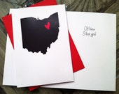 OH how I Love You Greeting Card