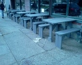 Picnic Table - Restaurant/Sidewalk Slide-In